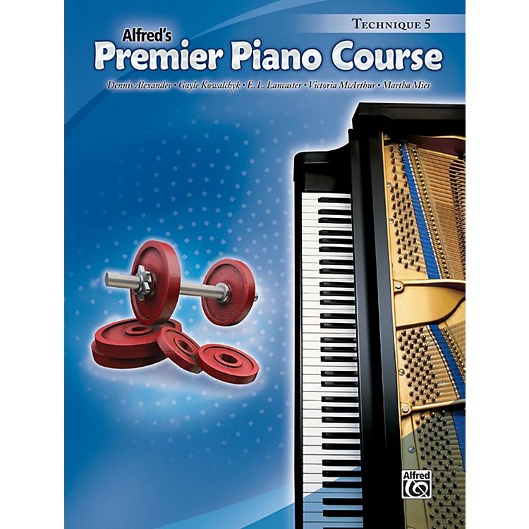 AlfredPremier Piano Course Technique Book 5