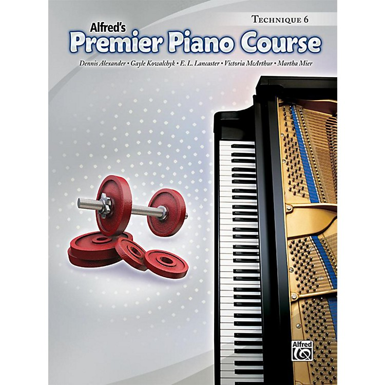 Alfred Premier Piano Course Technique Book 6 Book