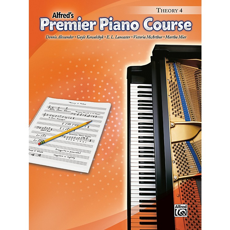 AlfredPremier Piano Course Theory Book 4