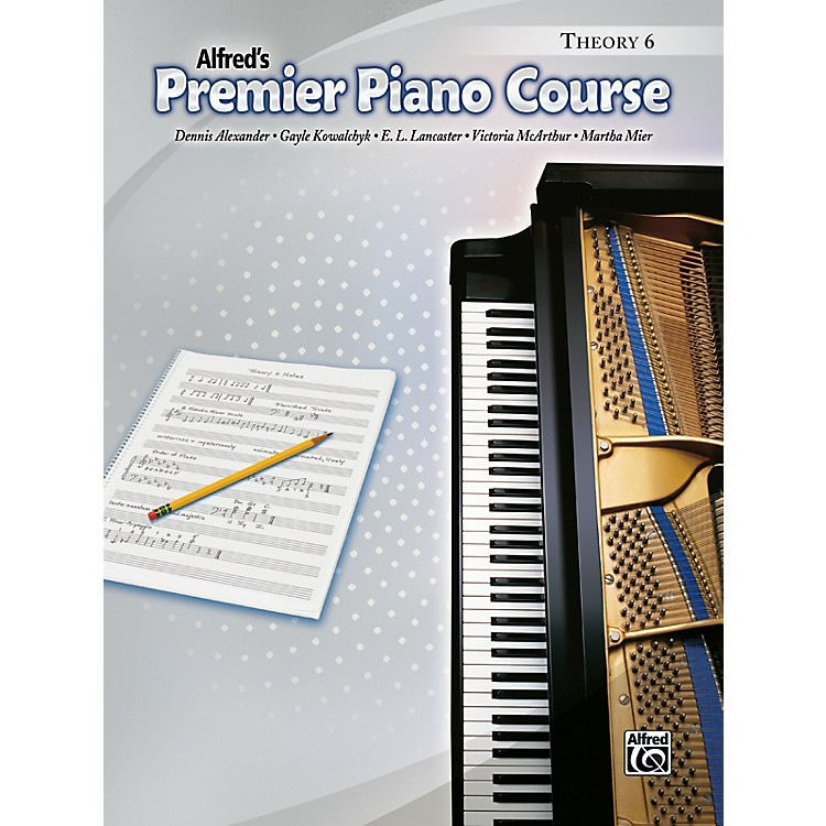 AlfredPremier Piano Course Theory Book 6