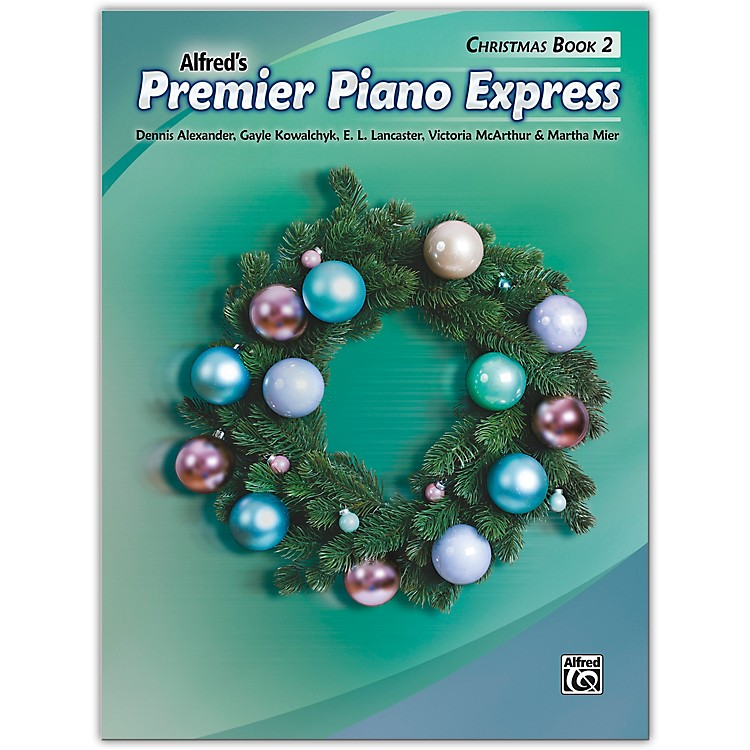 AlfredPremier Piano Express: Christmas, Book 2 Level 2