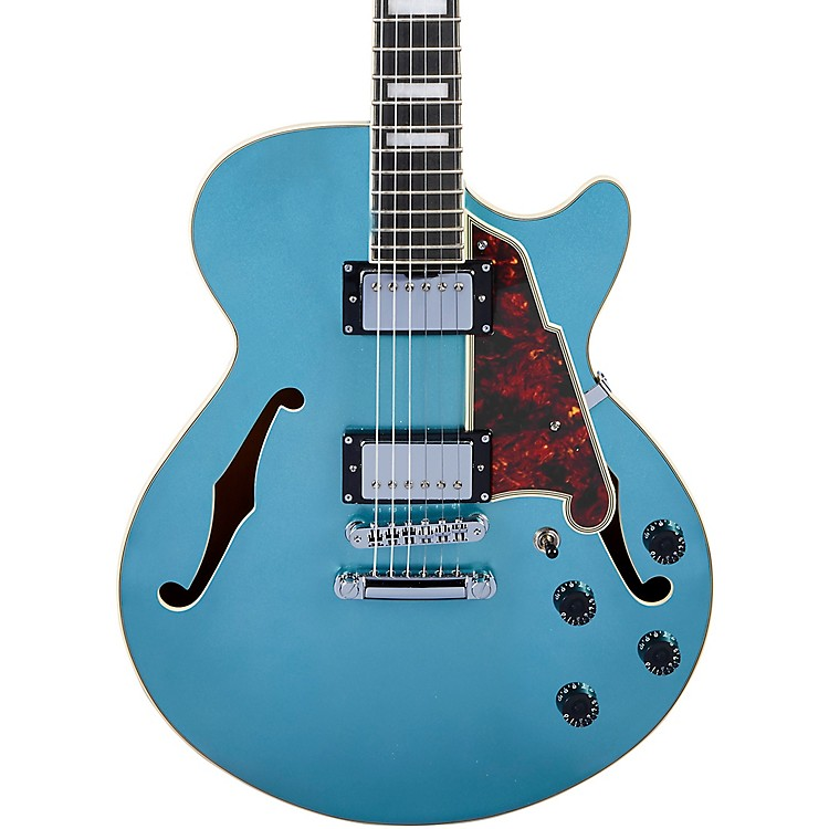 D'AngelicoPremier SS Semi-Hollow Electric Guitar with Stopbar TailpieceOcean Turquoise