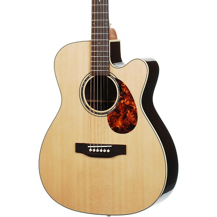 Voyage-Air Guitar Premier Series VAOM-2C Full-Size Folding Orchestra Model Acoustic Guitar