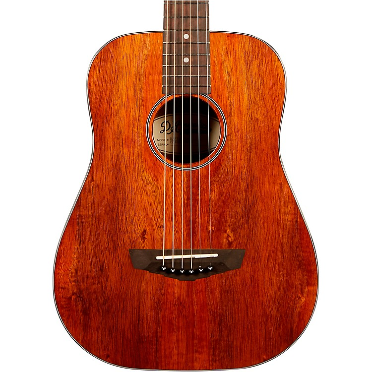D'Angelico Premier Utica Mini Acoustic Guitar With Mahogany Arched Back Natural