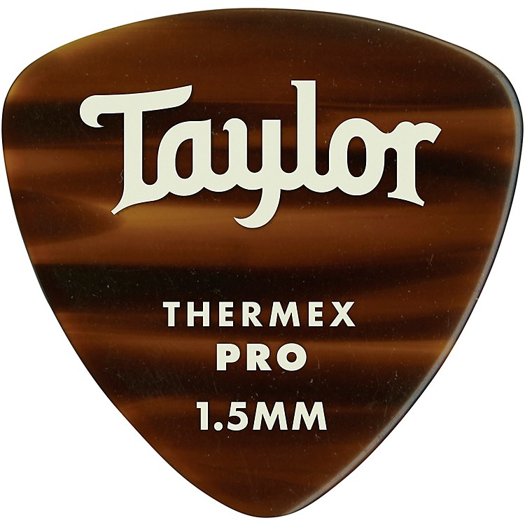 Taylor Premium 346 Thermex Pro Picks Tortoise Shell 6-Pack 1.5 mm 6 Pack