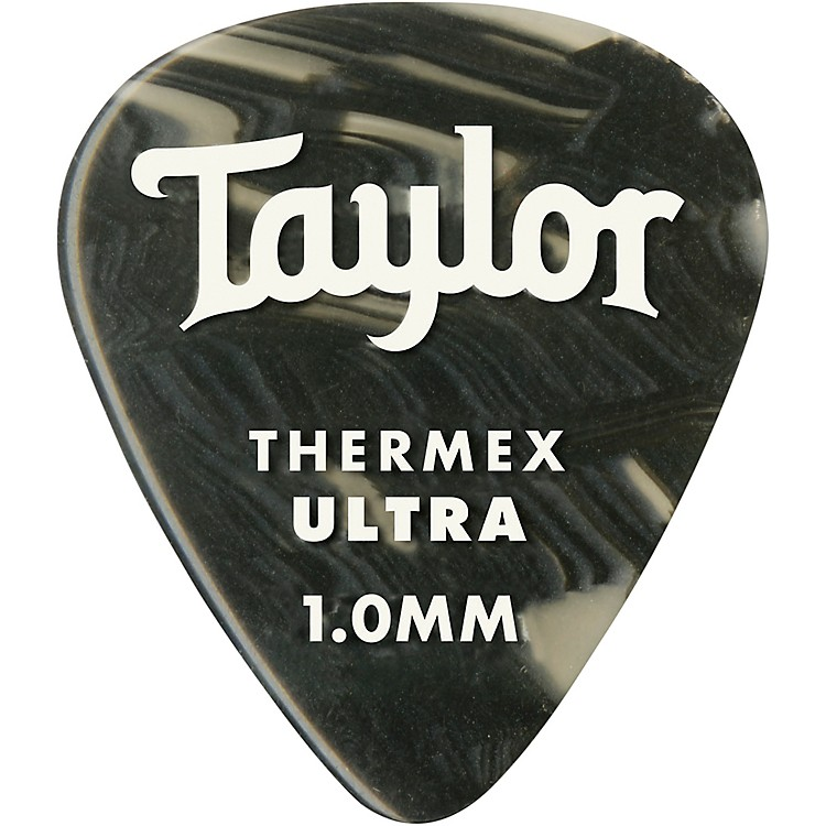 TaylorPremium 351 Thermex Ultra Picks Black Onyx 6-Pack1.25 mm6 Pack