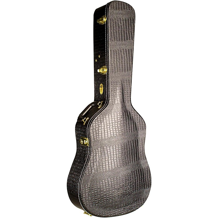 Guild Premium Alligator Jumbo Acoustic Guitar Case
