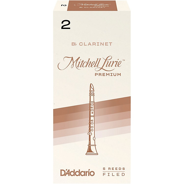 Mitchell Lurie Premium Bb Clarinet Reeds Strength 4 Box of 5