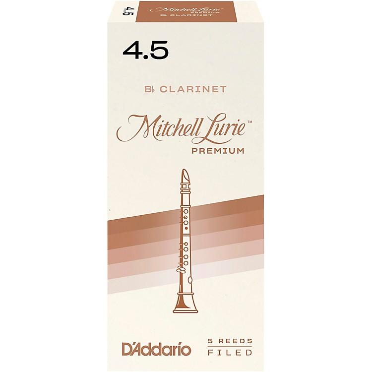 Mitchell LuriePremium Bb Clarinet ReedsStrength 4.5Box of 5