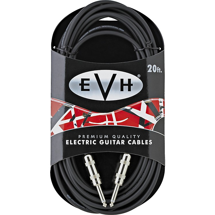 EVH Premium Electric Guitar Cable - Straight Ends 14 ft.