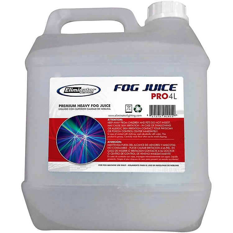 Eliminator LightingPremium Light Duty Eco Fog Juice