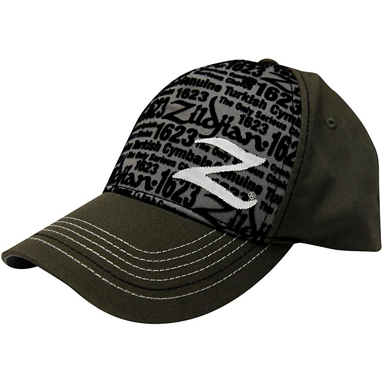 Zildjian Premium Mesh Trucker Hat Black/Green