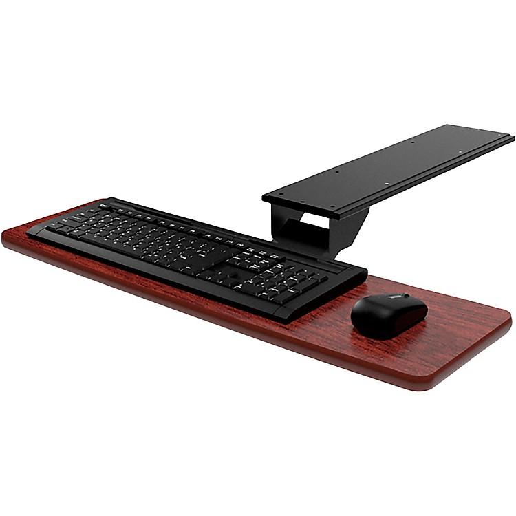 OmniraxPresto Computer Keyboard Shelf - OnlyMahogany