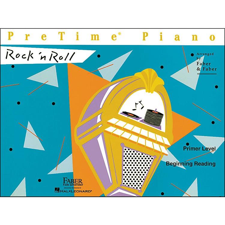 Faber Piano AdventuresPretime Piano Rock N Roll Primer Level Book Beginning Reading - Faber Piano