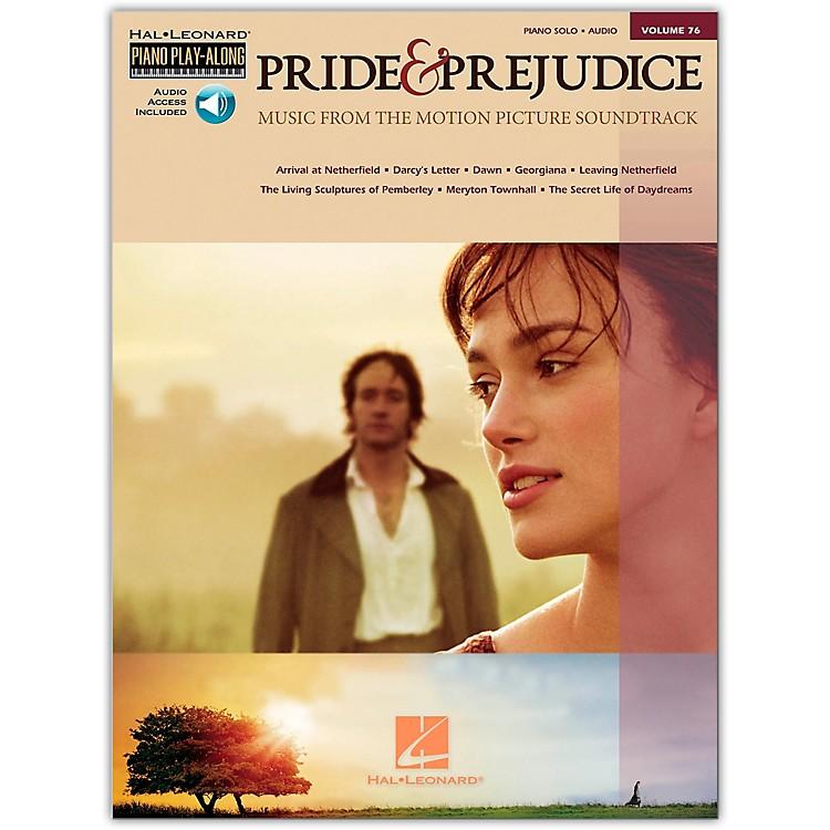 Hal LeonardPride & Prejudice - Music From The Movie Soundtrack - Piano Play-Along Volume 76 (Book/Online Audio)