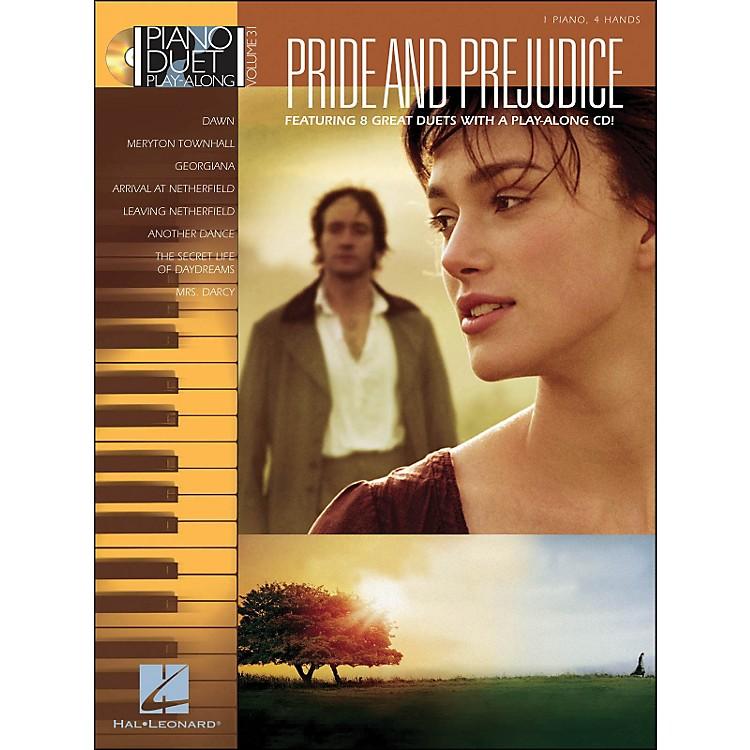 Hal LeonardPride & Prejudice - Piano Duet Play-Along Volume 31 (CD/Pkg)