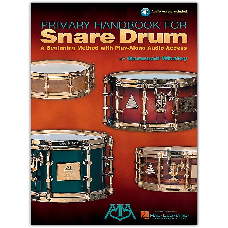 Hal LeonardPrimary Handbook for Snare Drum (Book/Online Audio)