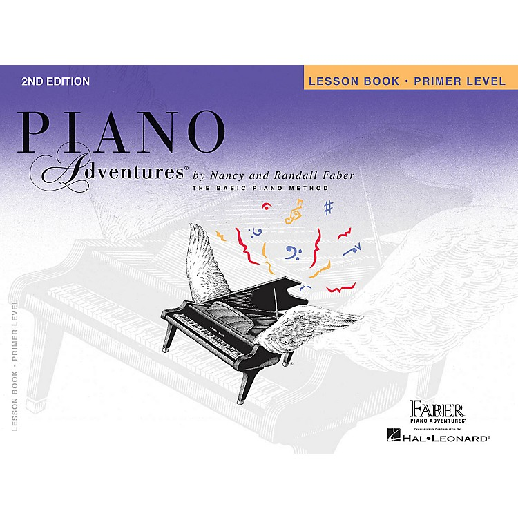 Faber Piano AdventuresPrimer Level - Lesson Book - Original Edition Faber Piano Adventures Series Book by Nancy Faber