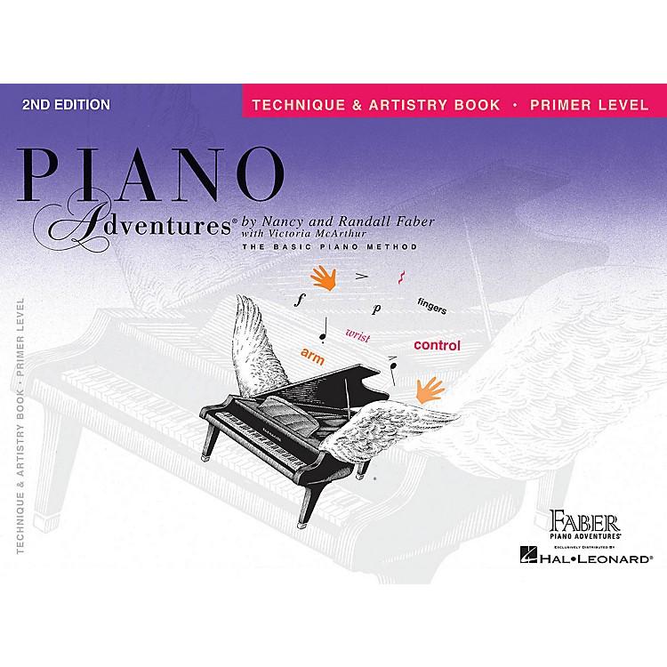 Faber Piano AdventuresPrimer Level - Technique & Artistry Book - Original Edition Faber Piano Adventures Book by Nancy Faber