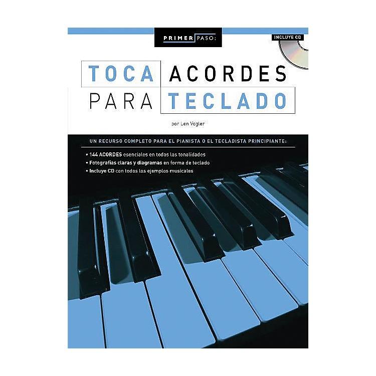 Music SalesPrimer Paso: Toca Acordes Para Teclado Music Sales America Series Softcover with CD Written by Len Vogler
