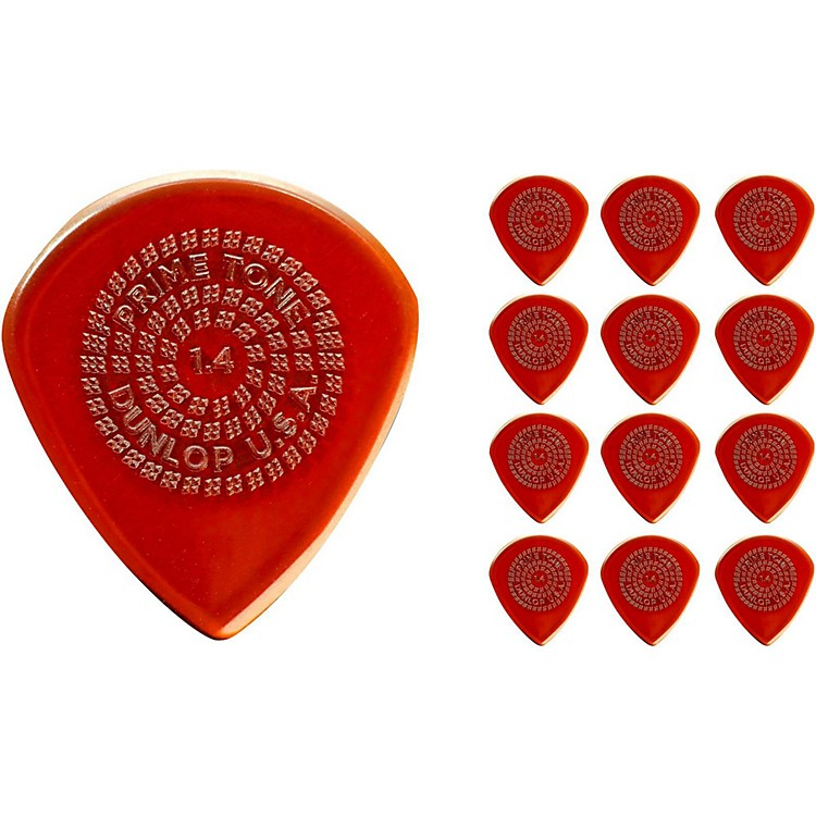 Dunlop Primetone Jazz III Sculpted Plectra Picks, 1.4 (12-Pack)