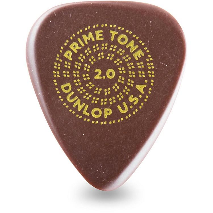 DunlopPrimetone Standard Guitar Picks2.0 mm12 Pack