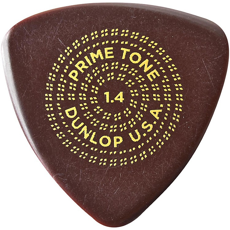 Dunlop Primetone Triangle Sculpted Plectra 3-Pack 1.4 mm