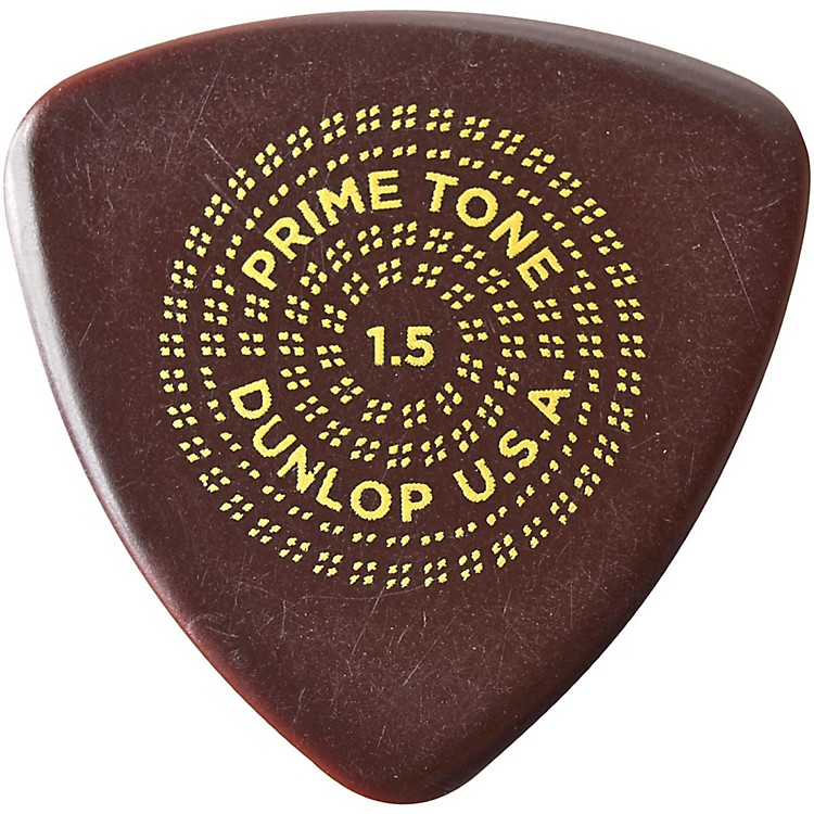 DunlopPrimetone Triangle Sculpted Plectra 3-Pack1.5 mm
