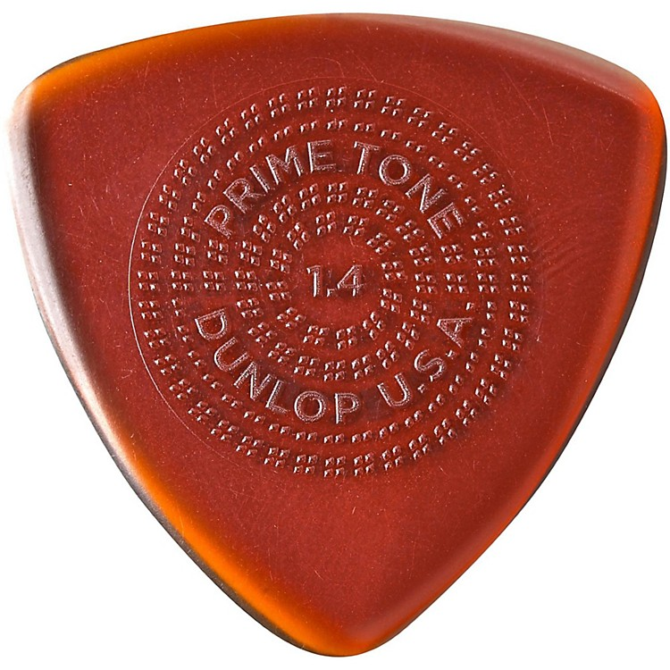 DunlopPrimetone Triangle Sculpted Plectra with Grip 3-Pack1.4 mm