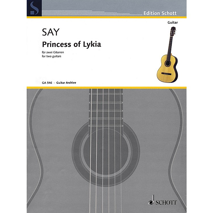 SchottPrincess of Lykia (for Two Guitars) Guitar Series Softcover