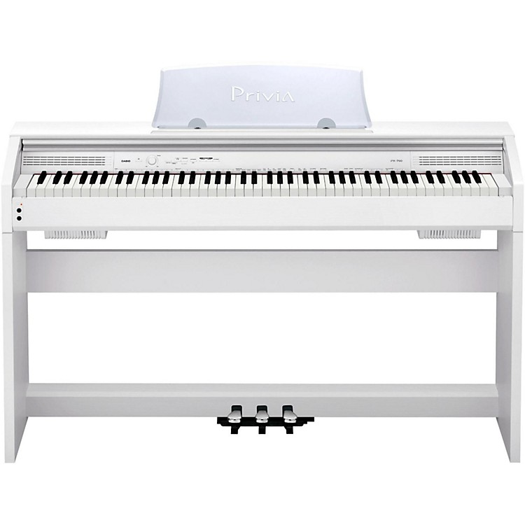 CasioPrivia PX-760 Digital Console PianoWhite