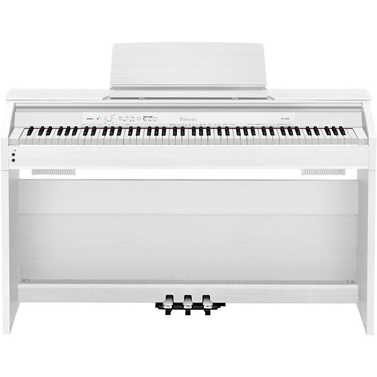 CasioPrivia PX-860 Digital Console PianoWhite