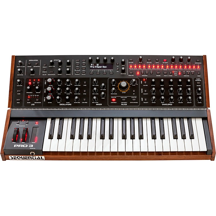 SequentialPro 3 Multi-Filter Mono Synthesizer - Special Edition