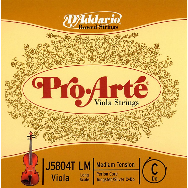 D'AddarioPro-Art Series Viola C String16+ Long Scale Tungsten