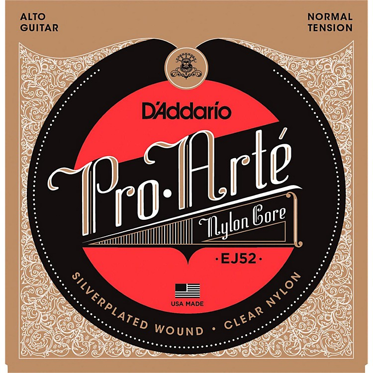 D'Addario Pro-Arte Clear Nylon/Silver Wound for Alto Guitar