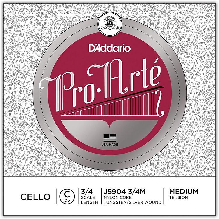 D'AddarioPro-Arte Series Cello C String3/4 Size