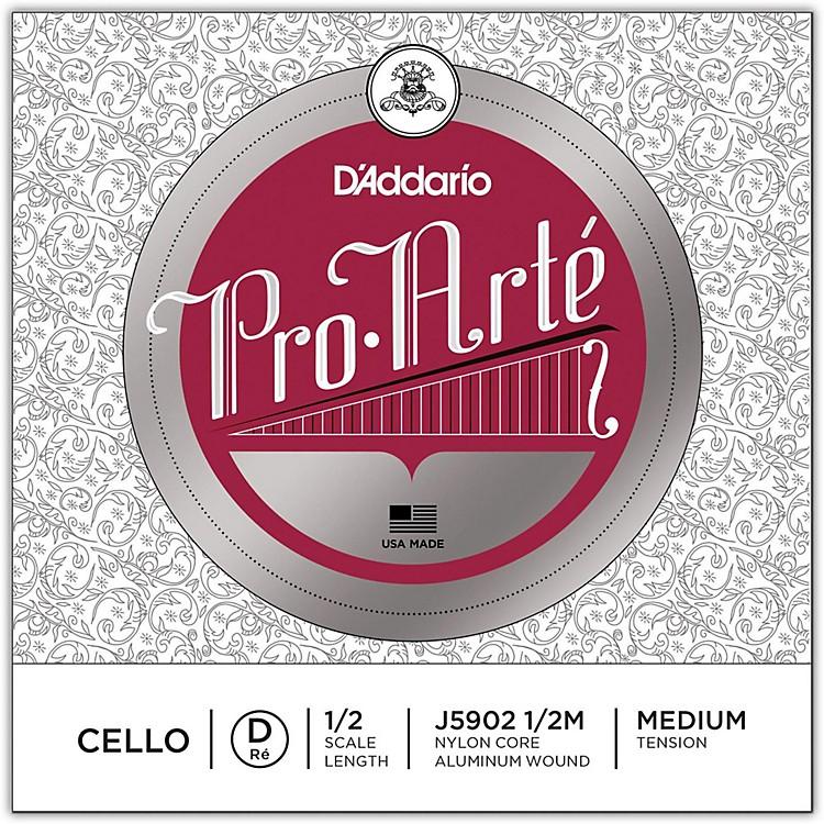 D'AddarioPro-Arte Series Cello D String1/2 Size