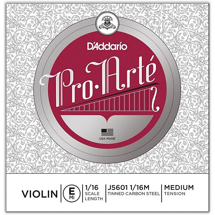 D'AddarioPro-Arte Series Violin E String1/16 Size