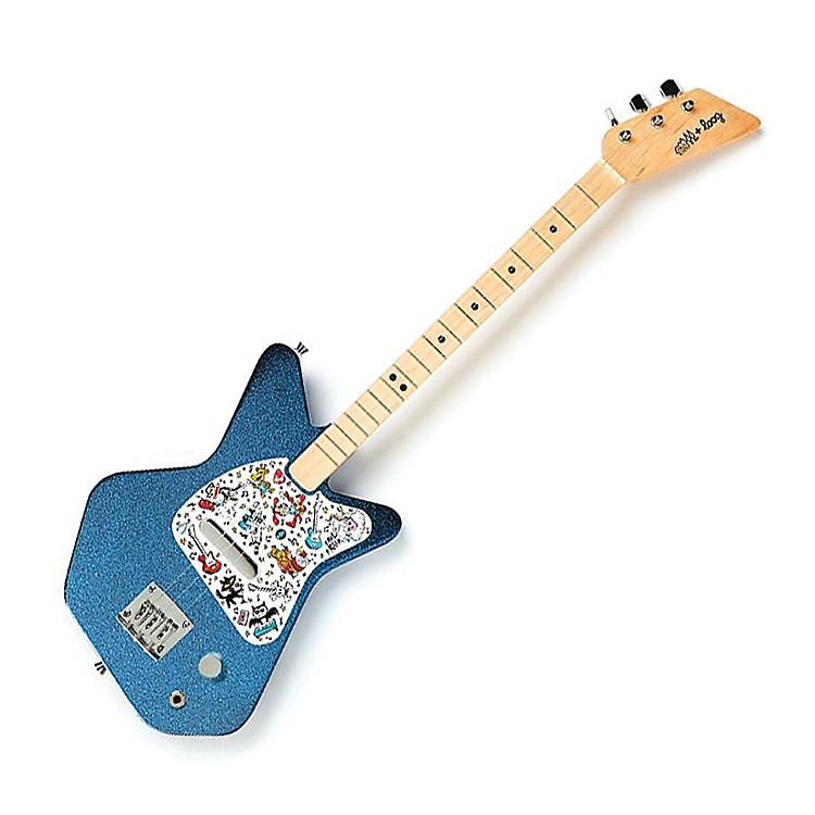Loog GuitarsPro Electric Guitar for Kids Paul Frank EditionBlue