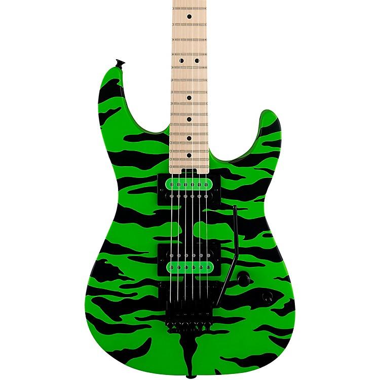 CharvelPro-Mod DK Signature Satchel Electric GuitarSlime Green Bengal