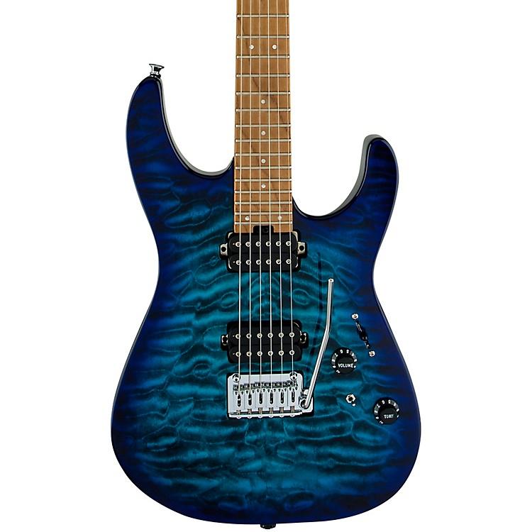 CharvelPro-Mod DK24 HH 2PT CM QM Electric GuitarChlorine Burst