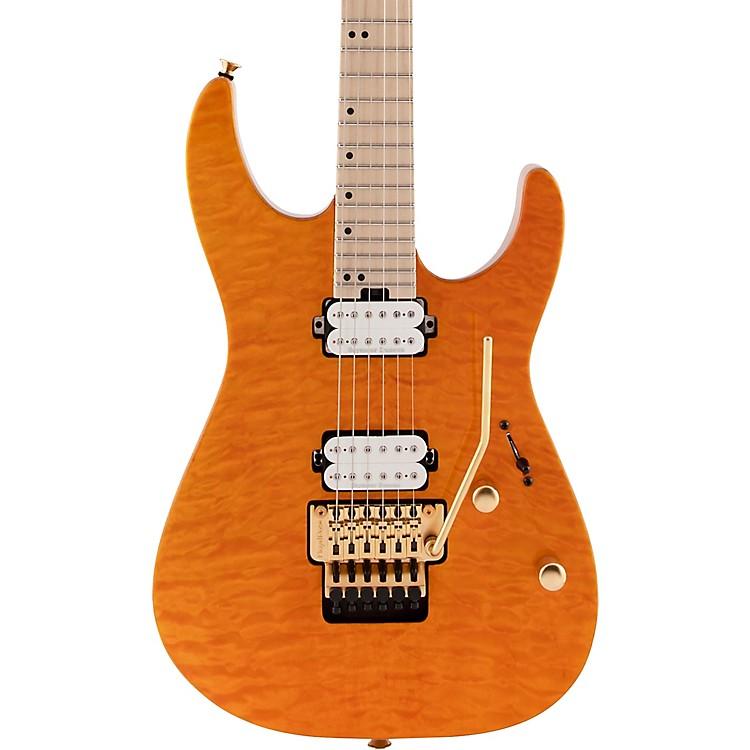 CharvelPro-Mod DK24 HH FR M QM Electric GuitarDark Amber