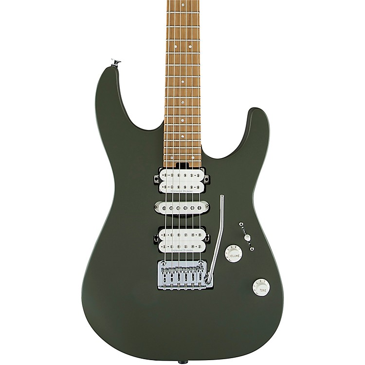 CharvelPro-Mod DK24 HSH 2PT CM Electric GuitarMatte Army Drab
