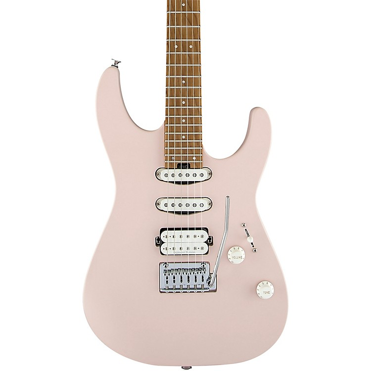 CharvelPro-Mod DK24 HSS 2PT CM Electric GuitarSatin Shell Pink