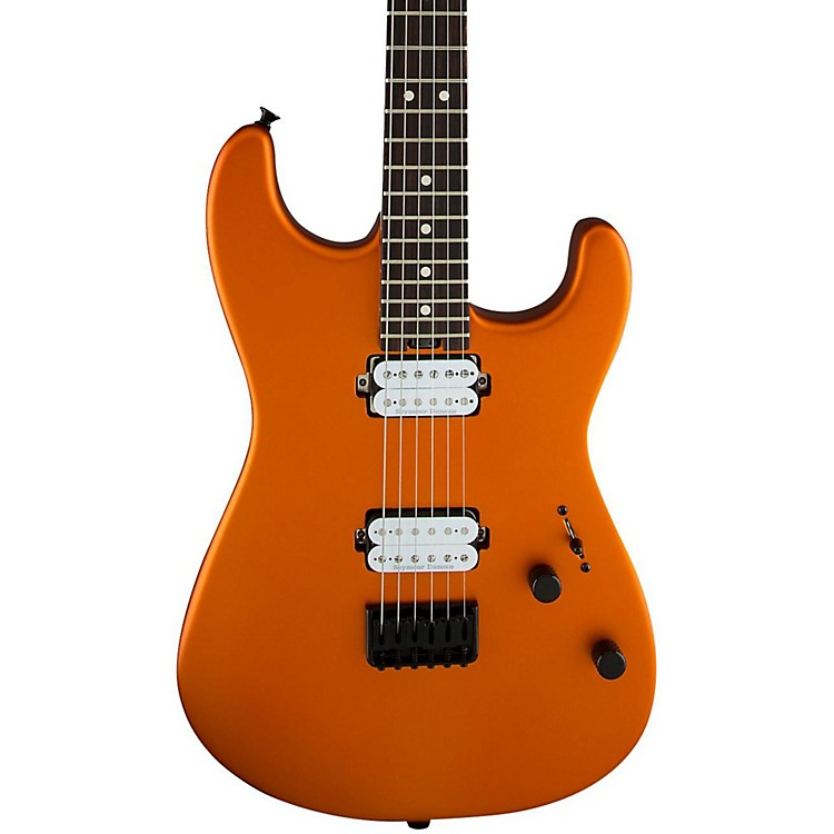 Charvel Pro Mod San Dimas Style 1 HH HT Electric Guitar Satin Orange Blaze