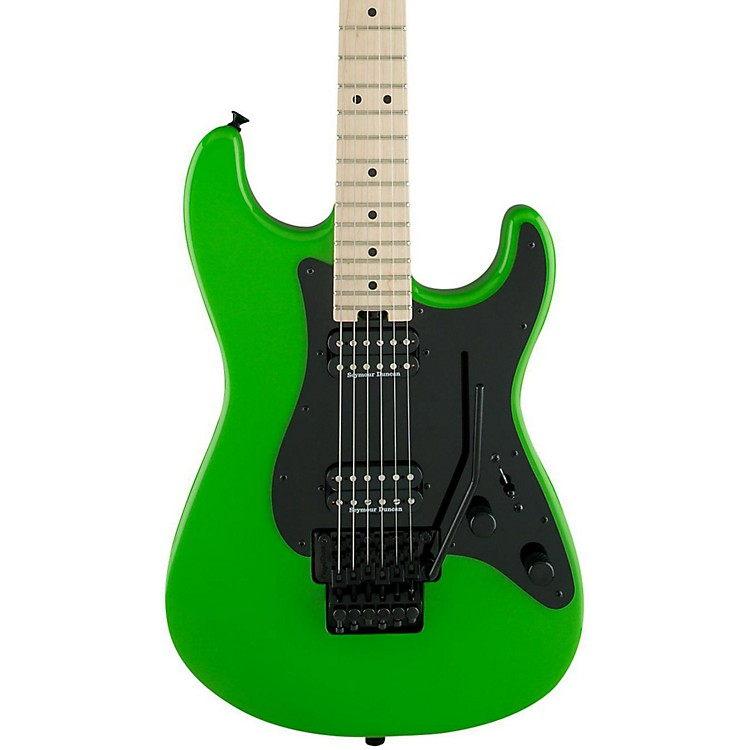 Charvel Pro Mod So Cal Style 1 2H FR Electric Guitar Slime Green