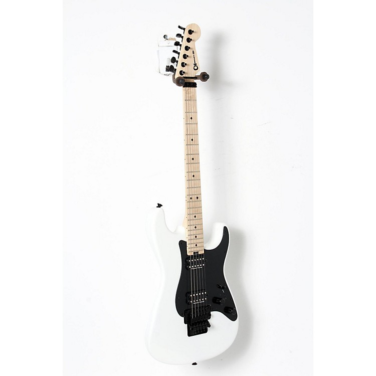 Charvel Pro Mod So Cal Style 1 2H FR Electric Guitar Snow White 888365900087