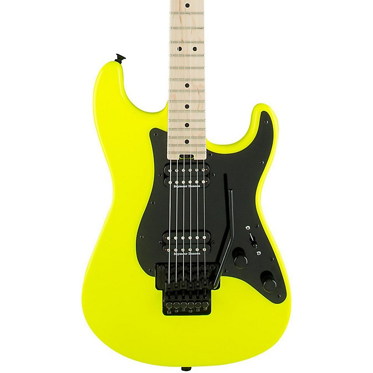 Charvel Pro Mod So Cal Style 1 2H FR Electric Guitar Neon Yellow