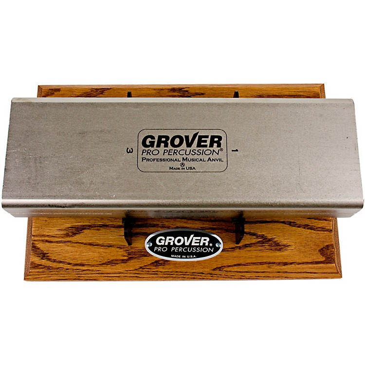Grover Pro Pro Musical Anvil Pitches 1+3