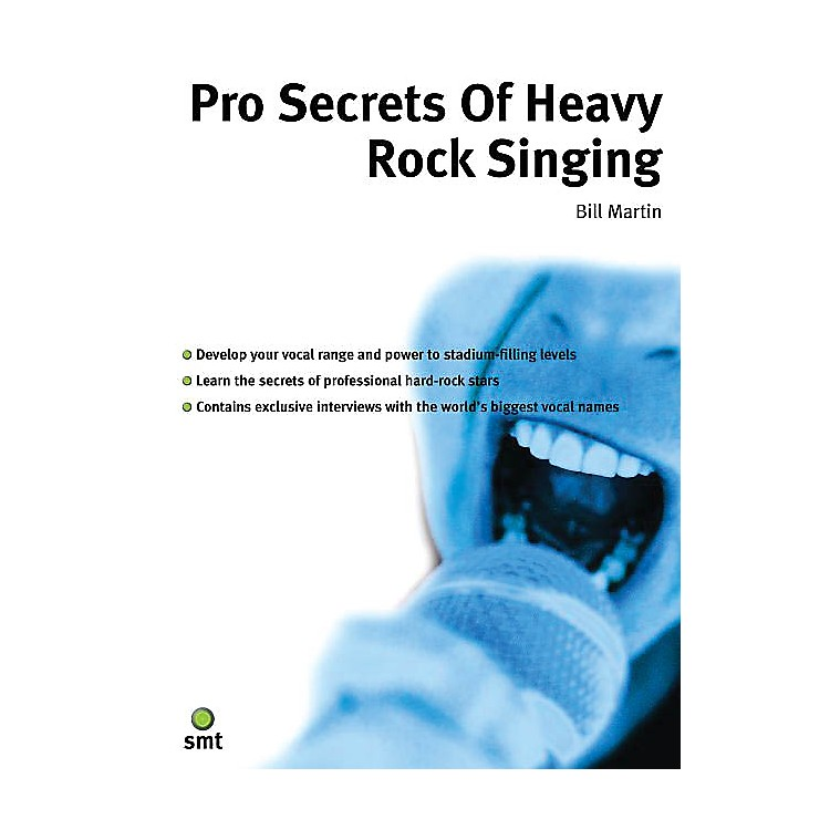 Music SalesPro Secrets of Heavy Rock Singing Music Sales America Series